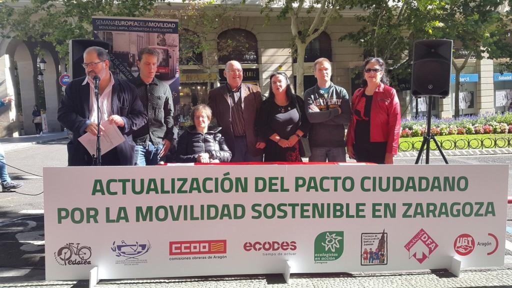 El Centro de Mayores Laín Entralgo organiza un debate sobre el Plan de Movilidad Sostenible de Zaragoza