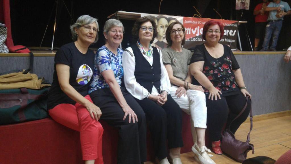 Éxito de las jornadas organizadas por CGT por el 80º aniversario de 'Mujeres Libres'