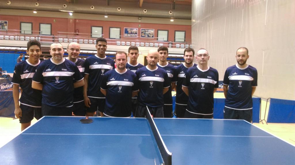 Comienzan las ligas estatales de Tenis de Mesa con participación aragonesa