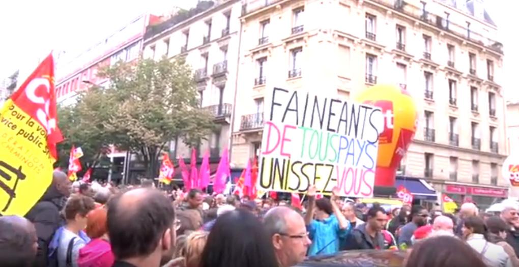 400.000 personas se manifiestan contra de la reforma laboral francesa