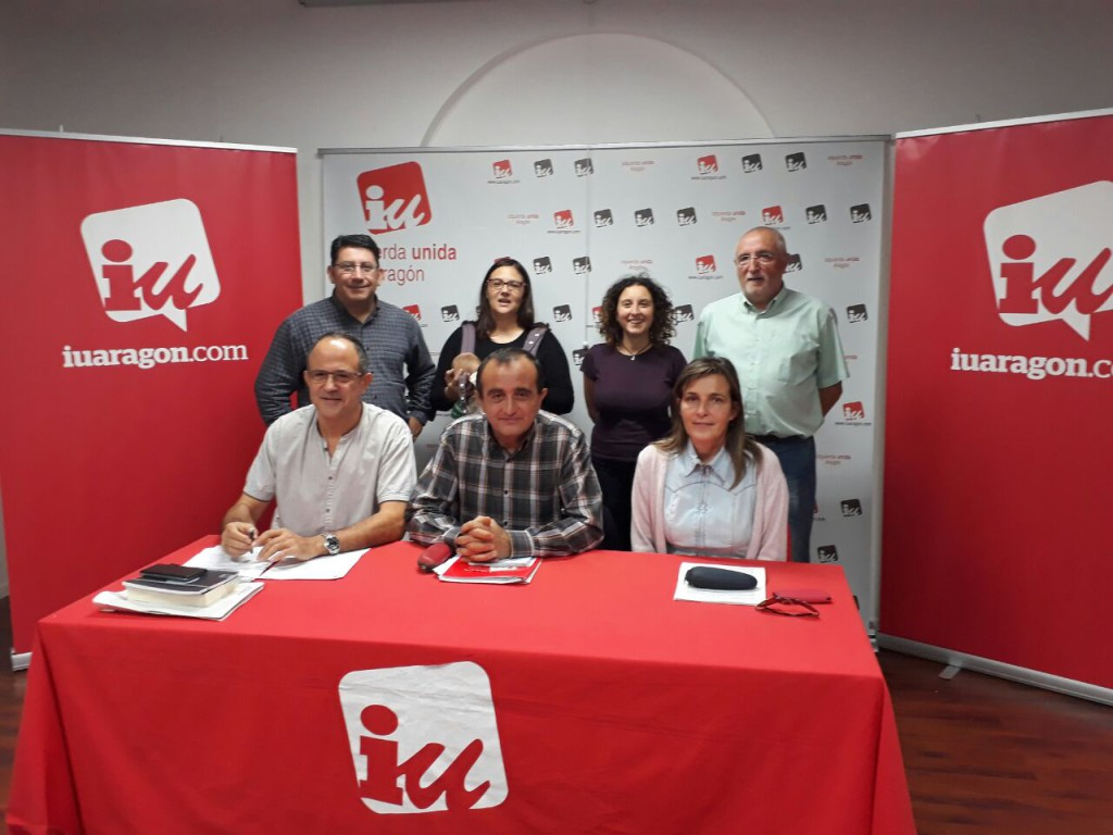 """IU Zaragoza quiere seguir fortaleciéndose como """"auténtico movimiento político y social, anticapitalista y rupturista"""""""