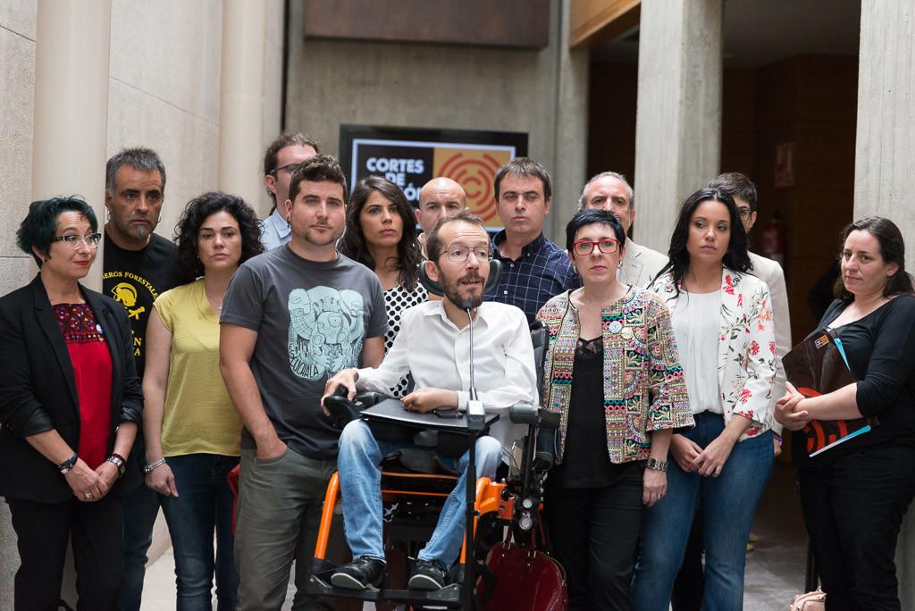 Erika Sanz, Nacho Escartín y Alfredo Casal lideran las tres candidaturas a la Secretaría General de Podemos en Aragón