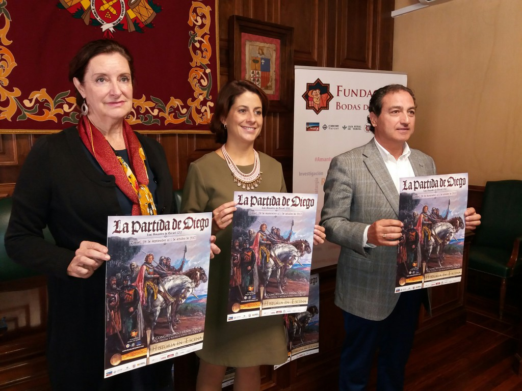 'La Partida de Diego' se amplía por el centro histórico de Teruel