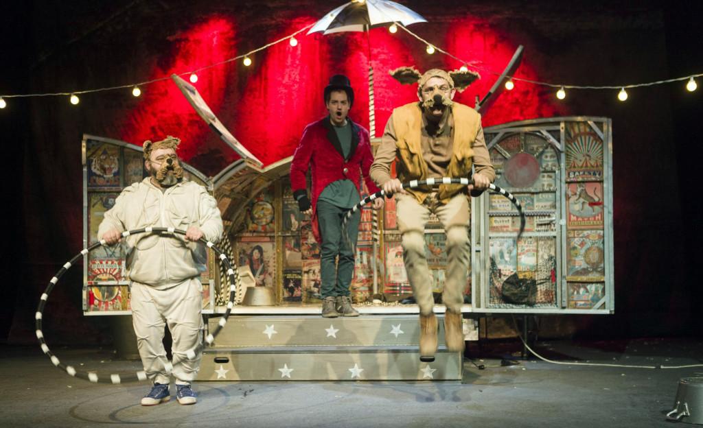 """Teatro Paraíso presenta """"Lunaticus Circus"""" este fin de semana en el Teatro Arbolé"""