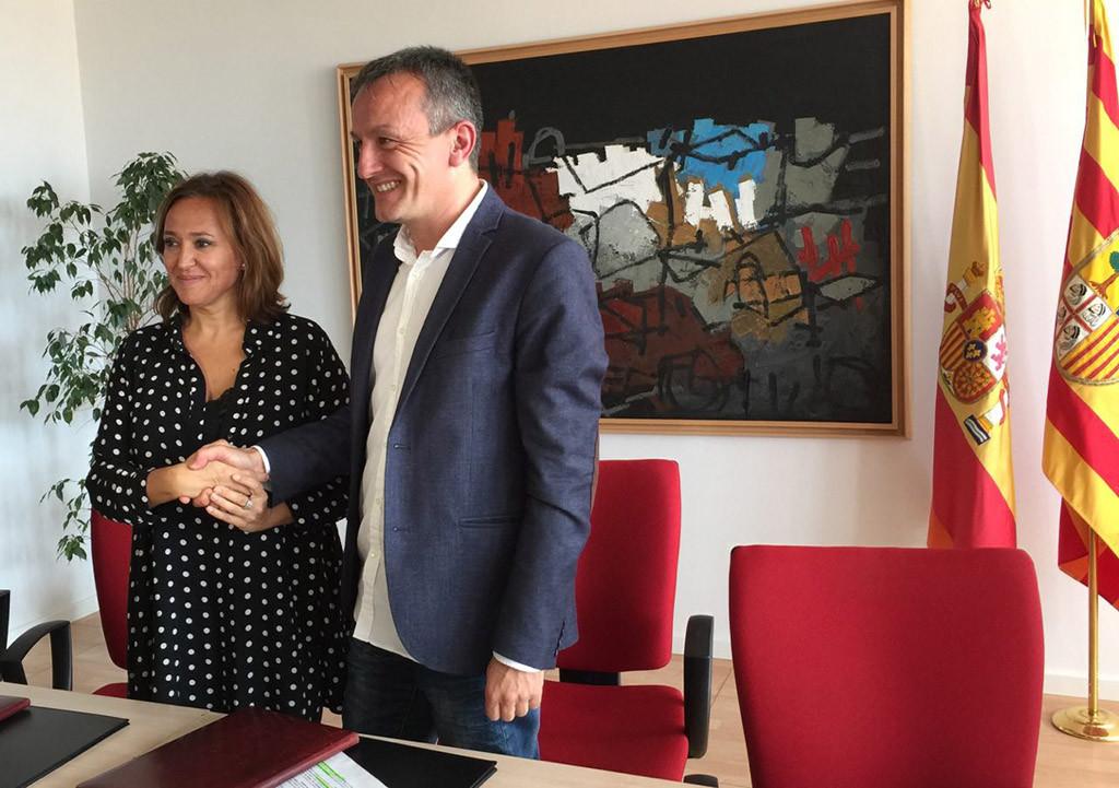 Zaragoza y Educación firman un convenio de colaboración para la conservación del patrimonio de la ciudad