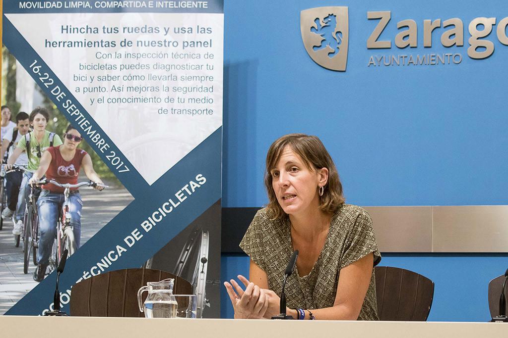 La Semana Europea de la Movilidad se celebra en Zaragoza con múltiples actividades