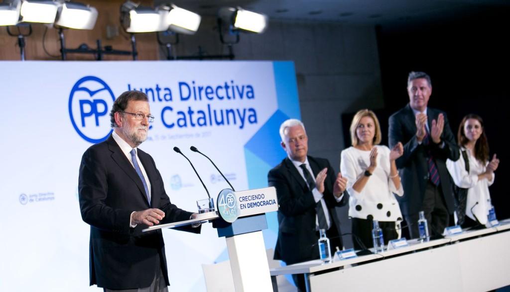 """Rajoy amenaza a la Generalitat: """"Nos van a obligar a lo que no queremos llegar"""""""