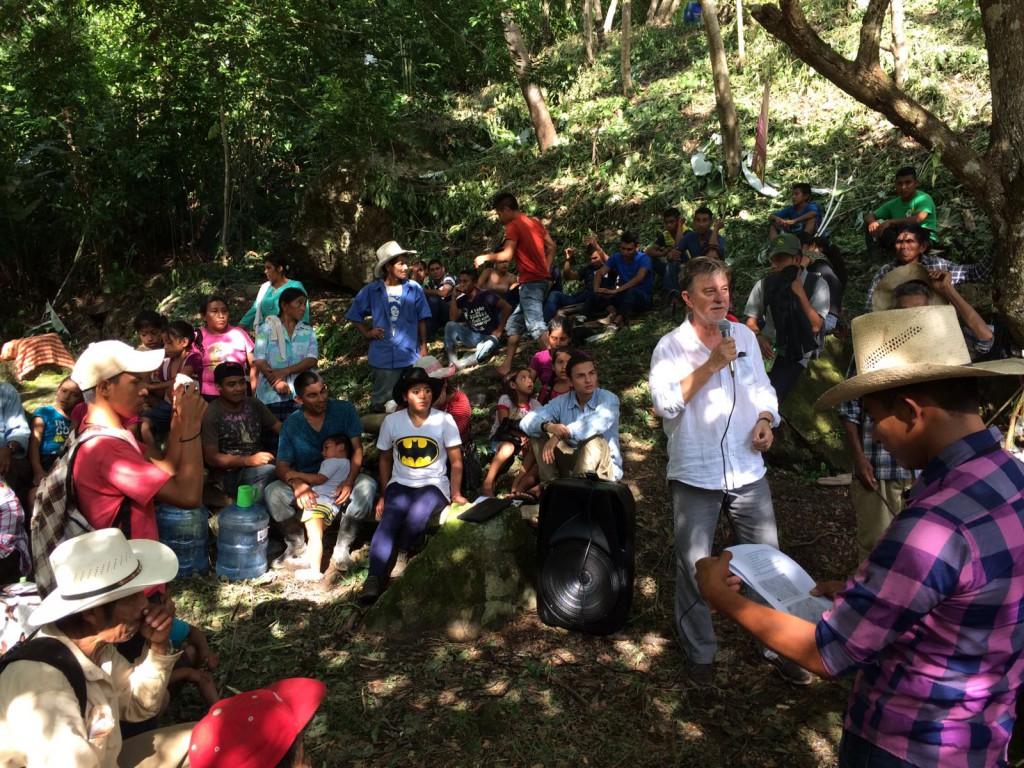 Pedro Santisteve media con el Consejo General de la Abogacía para que el crimen de Berta Cáceres no quede impune