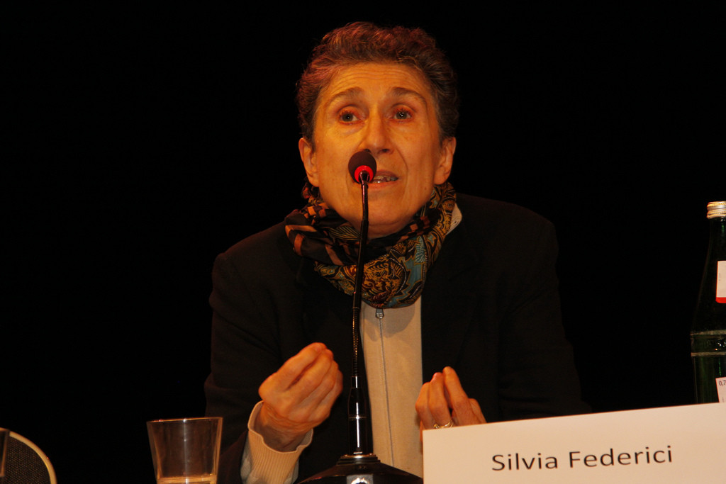 Silvia Federici continúa con los actos programados en Zaragoza