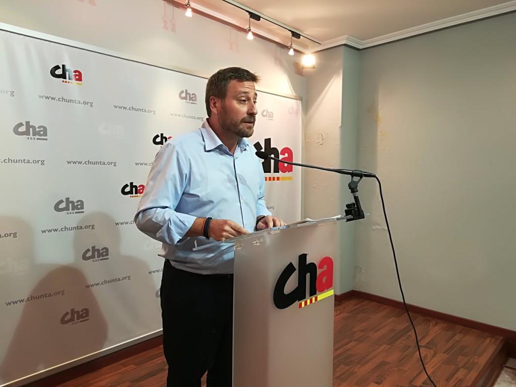 """CHA pide las dimisiones de Rajoy y Zoido y al Parlament que """"no declaren unilateralmente la independencia"""""""