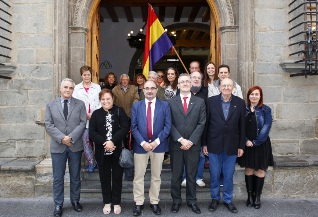 El Gobierno de Aragón trabaja en la elaboración de un mapa de lugares de la Memoria