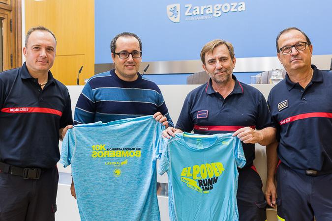 Zaragoza acoge la V edición de la Carrera 10 K Bomberos