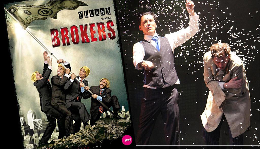"""Yllana retrata el mundo de las altas finanzas en la salvaje e irreverente """"Brokers"""""""