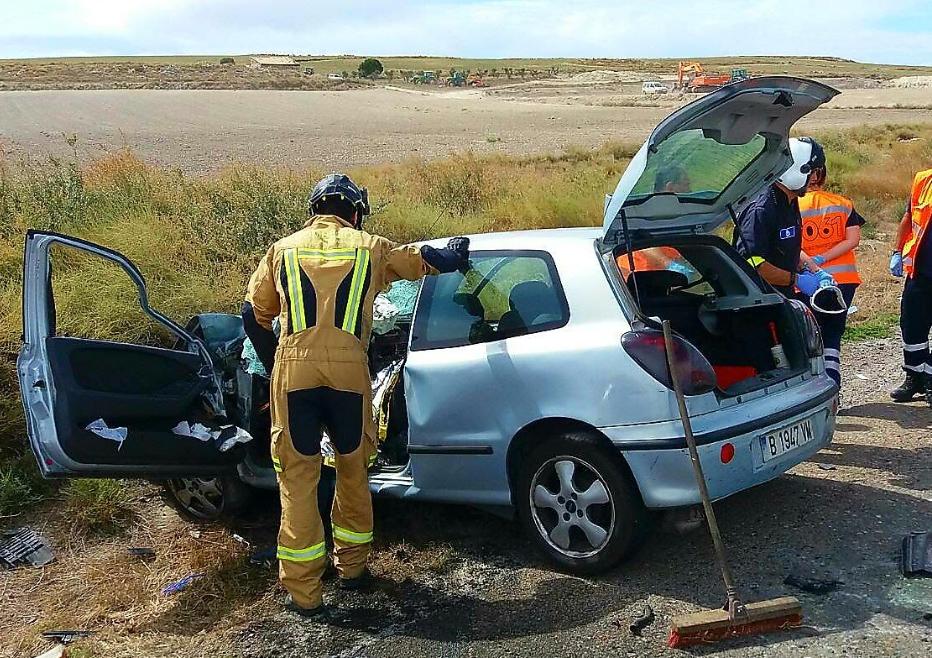 La Alcaldesa de Pina de Ebro lamenta el nuevo accidente mortal en la N-II