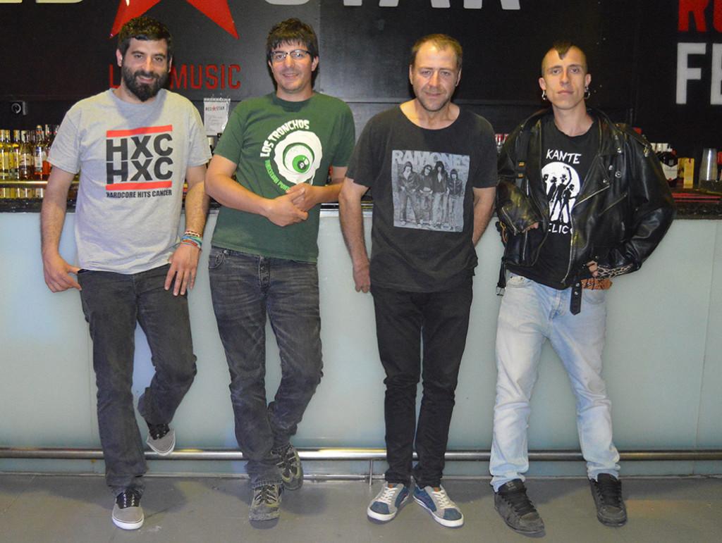 Dekadentes, banda punk-rock de Altorricón, publica su primer trabajo de estudio