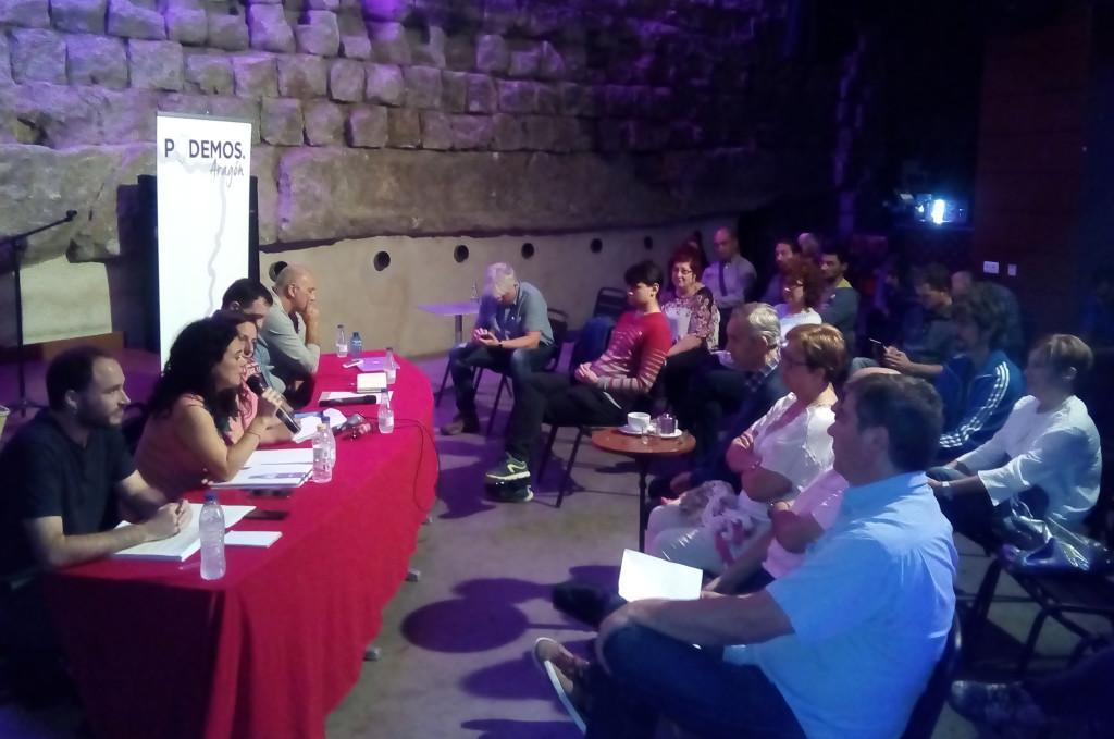 Erika Sanz ofrecerá a Nacho Escartín formar parte de la ejecutiva de Podemos Aragón en caso de ser elegida