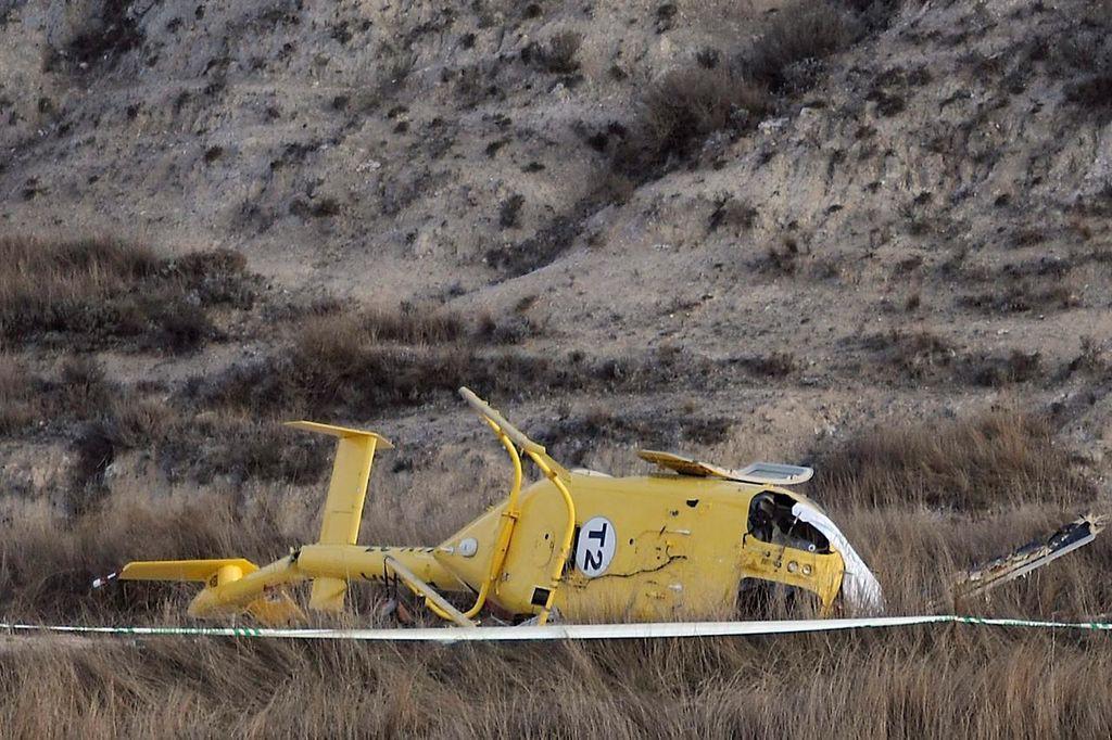 Podemos, IU, CHA y C´s impulsan la investigación del siniestro de una helitransportada en 2011 en el que fallecieron seis personas