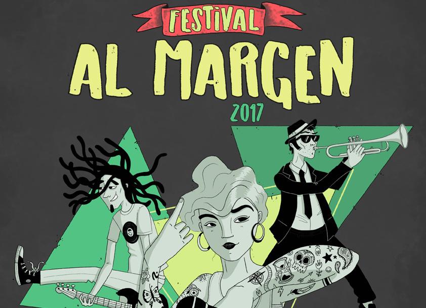 Hip Hop, reggae y ska protagonistas del Festival Al Margen