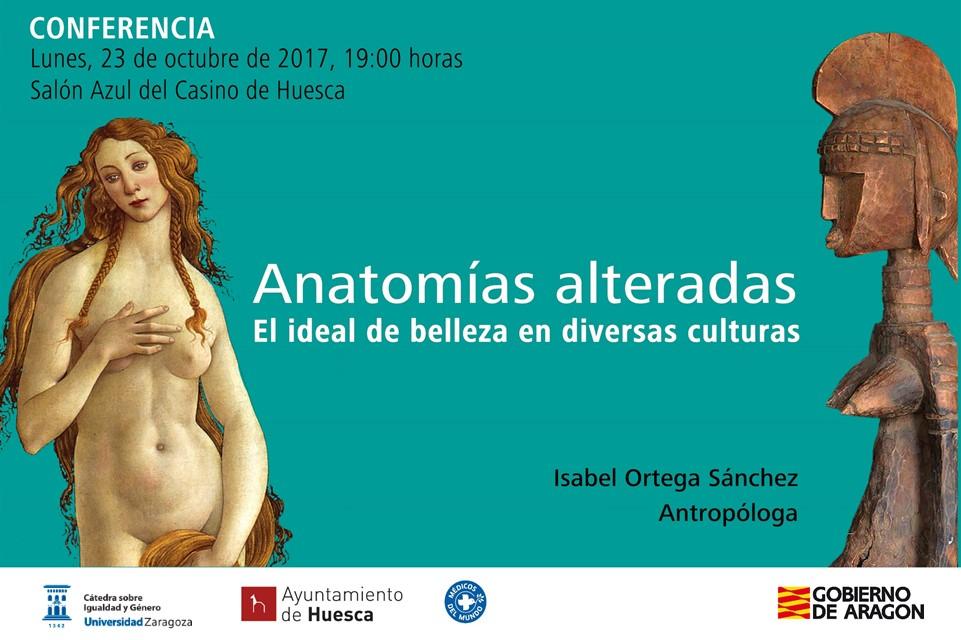 Isabel Ortega analiza en Uesca los modelos de belleza en diversas culturas