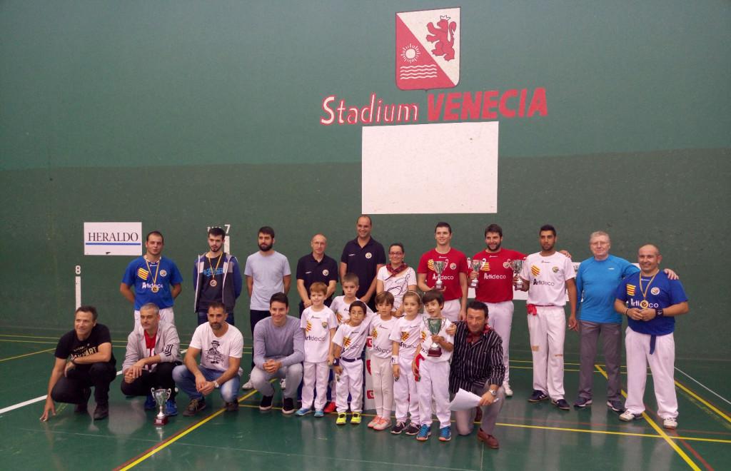 Gran jornada de Pelota en el Trofeo Ciudad de Zaragoza