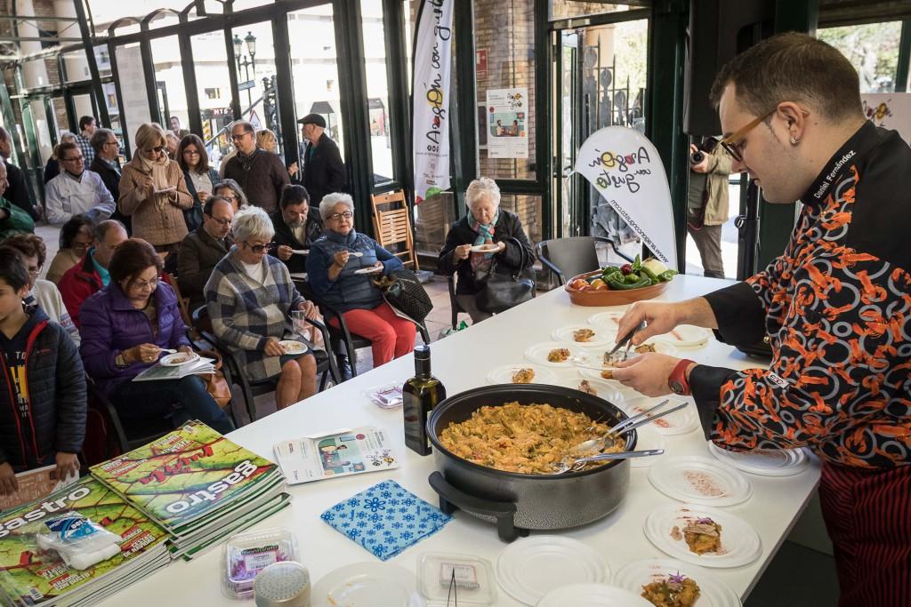 Aragón con Gusto anima los Mercados Municipales de Zaragoza