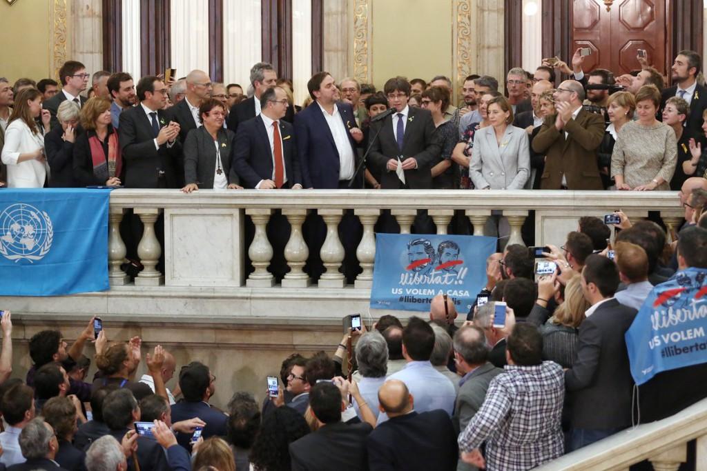 Proclamada la República de Catalunya