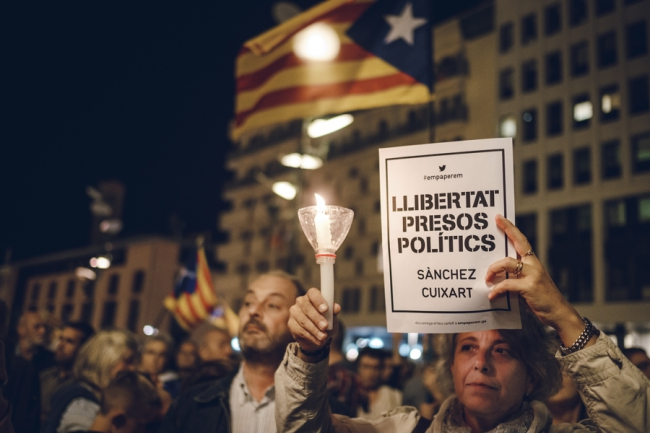 Sànchez y Turull inician una huelga de hambre en prisión y Amnistía monitorizará el juicio