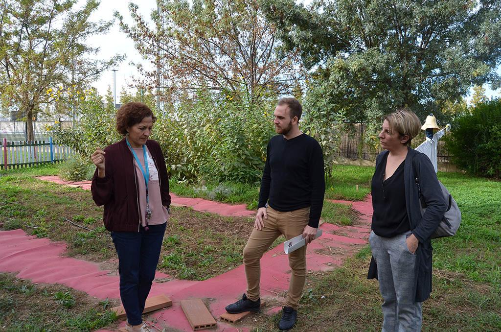 CHA reclama la adecuación del solar situado junto al Colegio José Antonio Labordeta