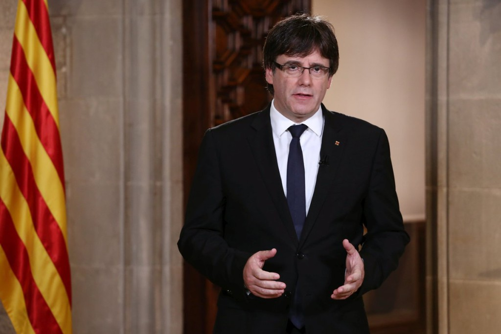Puigdemont alega ante el Supremo que no necesita «autorización judicial» para ir al pleno de investidura