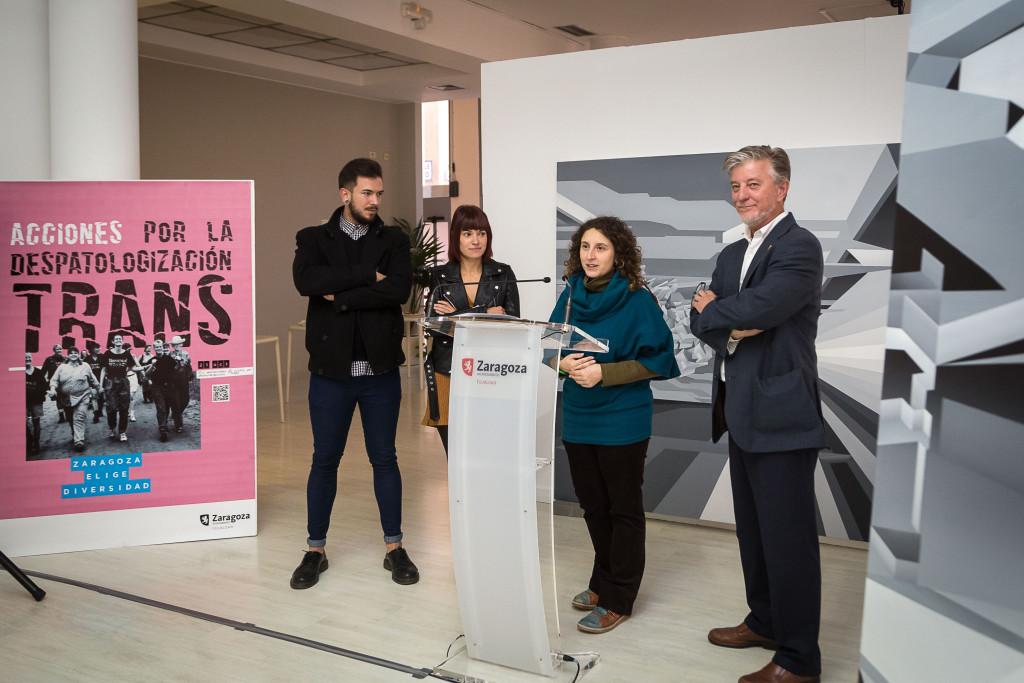 Zaragoza muestra su compromiso con la igualdad, el empoderamiento y la inclusión del colectivo trans