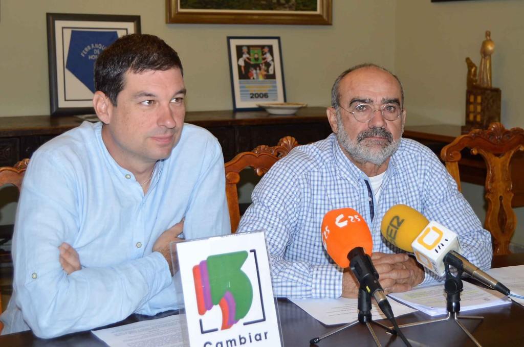 Cambiar presenta en DPH y Balbastro su moción sobre descentralización de la administración