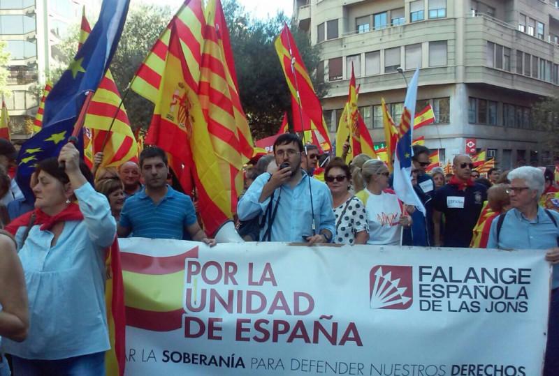 Barcelona: Razia españolista en tiempos de propaganda