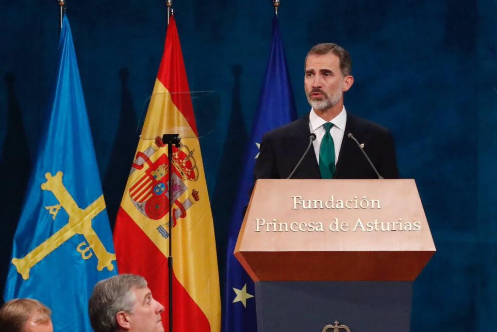 """Felipe de Borbón defiende el 155 """"frente al inaceptable intento de secesión"""" de Catalunya"""