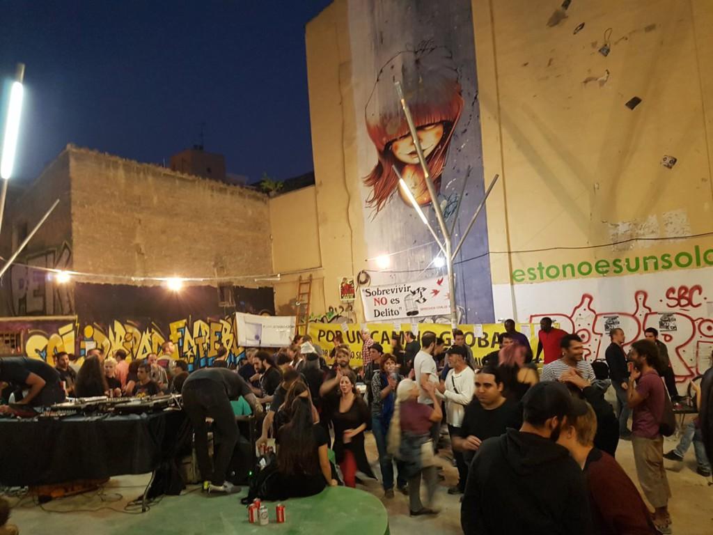 El Grupo de Derechos Civiles 15M Zaragoza agradece la asistencia a todas las personas que acudieron a la Fiesta Antirrepresiva