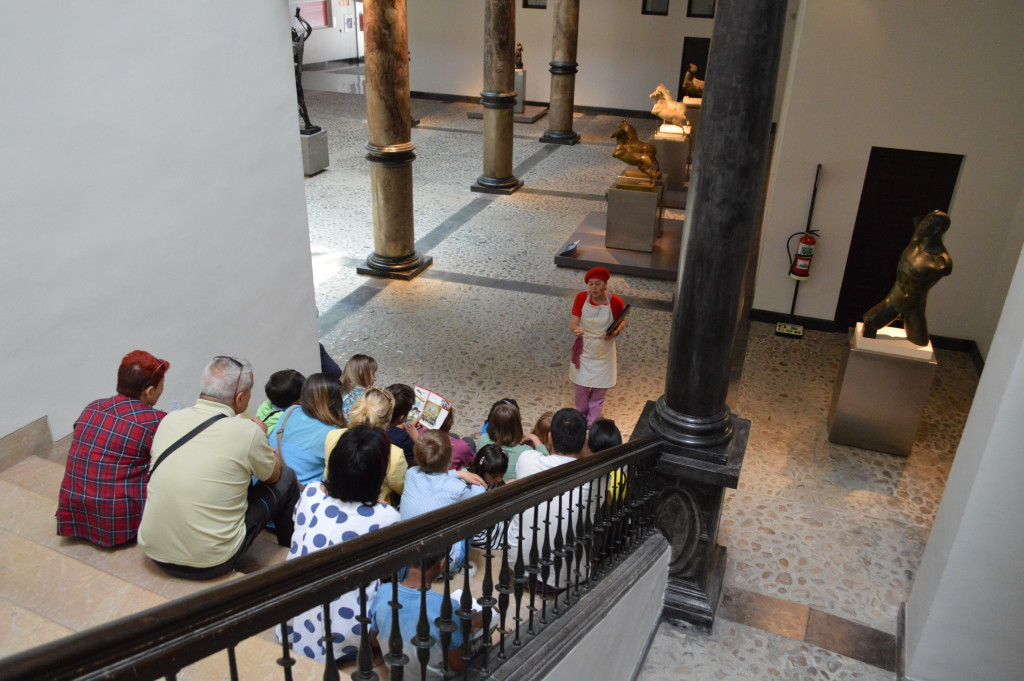 Comienza un nuevo curso del programa en los museos municipales 'Al museo en familia'