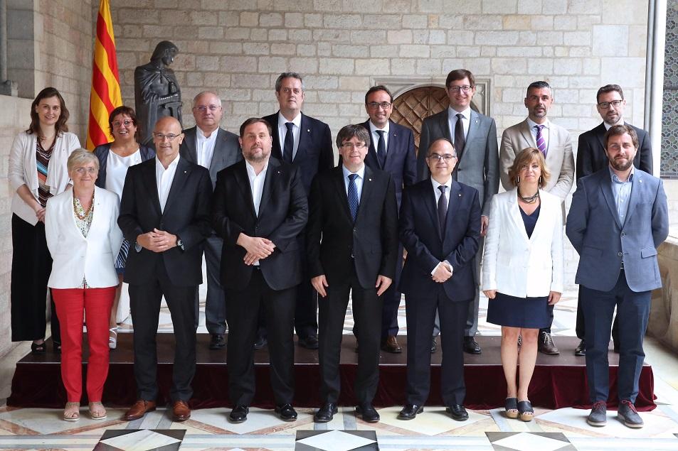 El Govern de Puigdemont activa una «estructura estable» en Bélgica