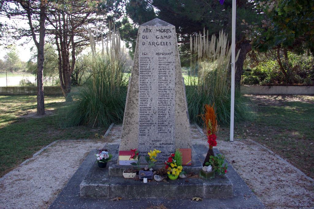 Cementerio de los republicanos en Argeles Sur Mer.