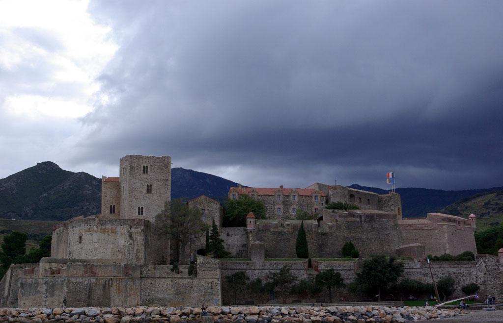 El Castillo Real de Collioure sirvió como prisión para militares republicanos. Foto: Miguel Ángel Conejos (AraInfo).