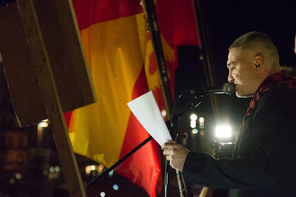 Kase.O lanza en el pregón, rapeando 'Soy de Aragón', un mensaje de paz, respeto y diversión