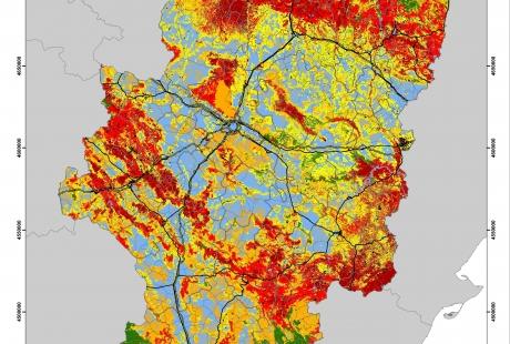 Desarrollo Rural reclasifica el riesgo de incendio en todo el territorio