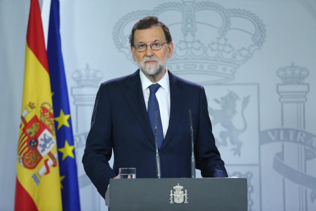 Rajoy prepara el terreno para aplicar el 155