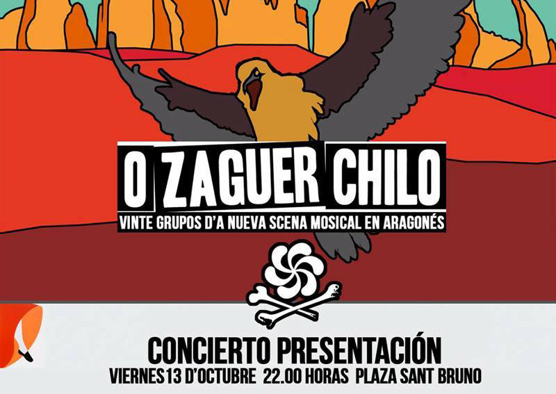 "Presentación en directo del disco ""O Zaguer Chilo"""