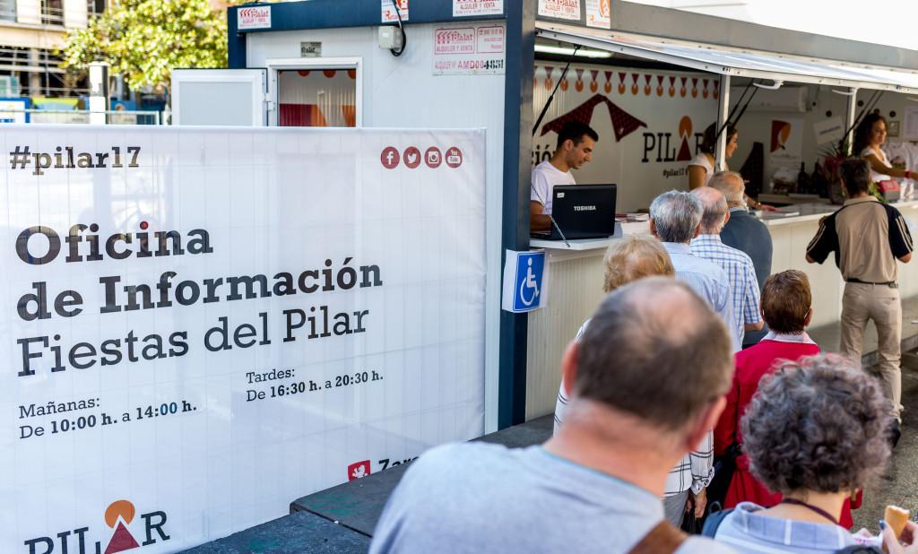 Abierta al público la Oficina de Información de las Fiestas del Pilar 2017