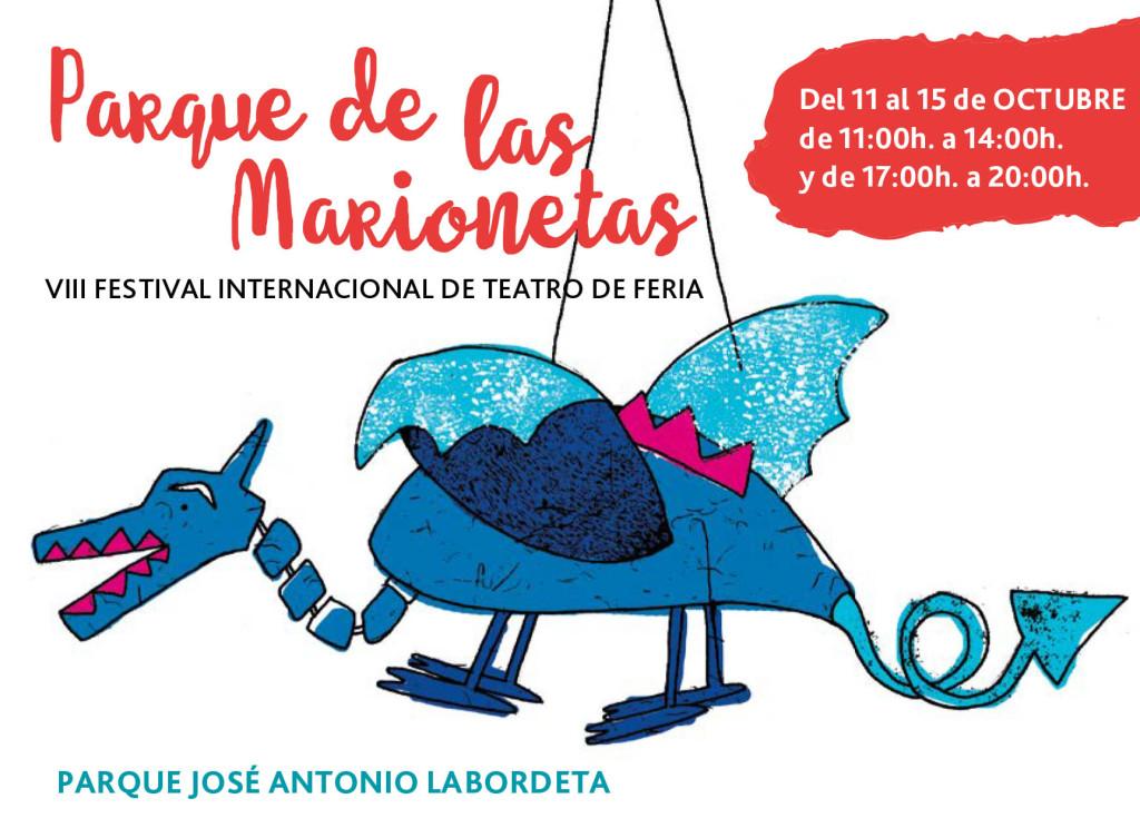 Las Marionetas cobran vida en el parque José Antonio Labordeta