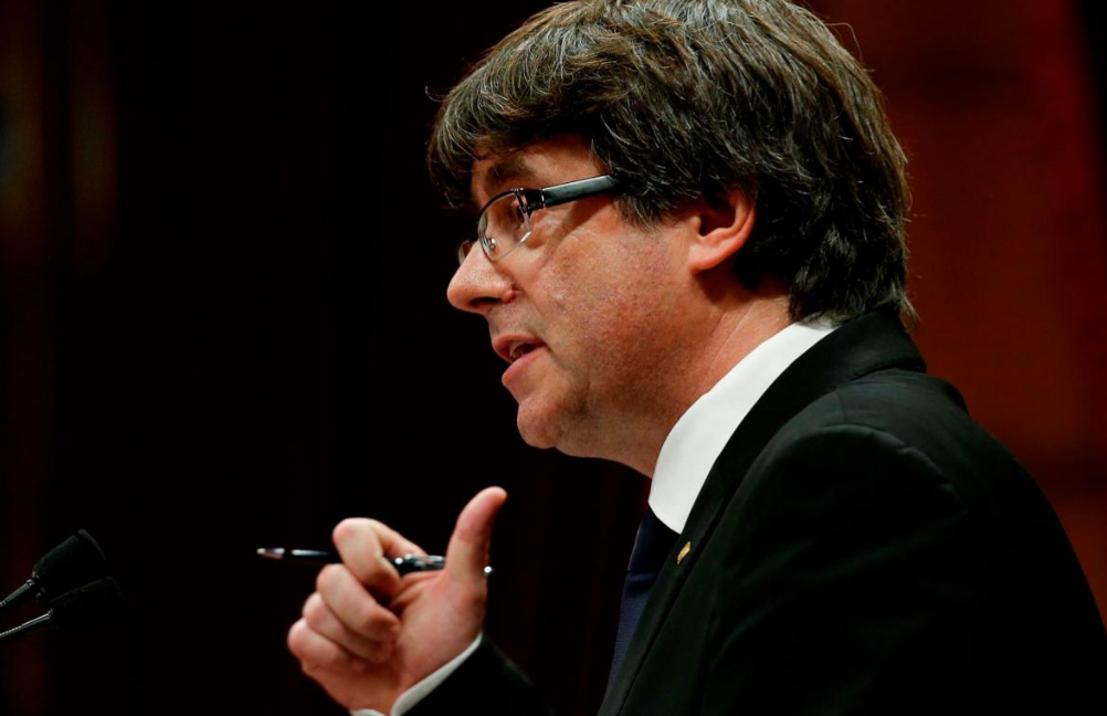 Puigdemont y los cuatro consellers que le acompañan en Bruselas declaran ante el juez belga