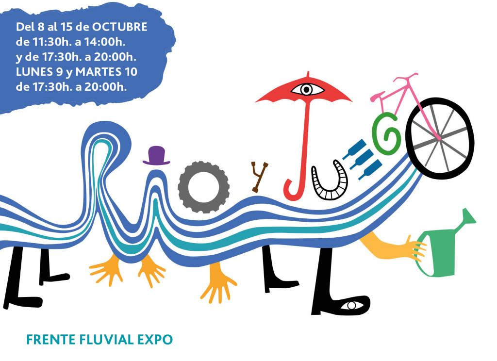 Río y Juego, un espacio infantil donde experimentar con materiales reutilizados