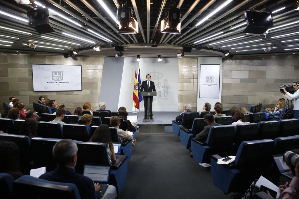 """Mariano Rajoy asegura que el referéndum en Catalunya """"no ha existido"""""""