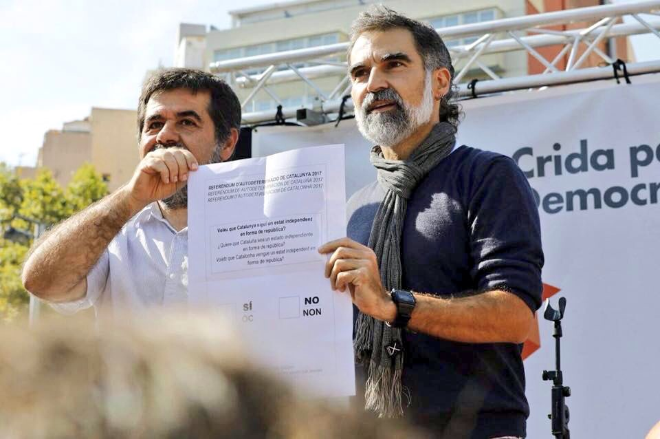 """Amnistía Internacional exige la """"inmediata"""" puesta en libertad de Cuixart y Sànchez"""