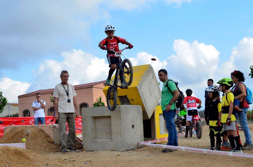 Poldo Sillué acaba quinto en la Copa Tarragona de bike trial en categoría infantil