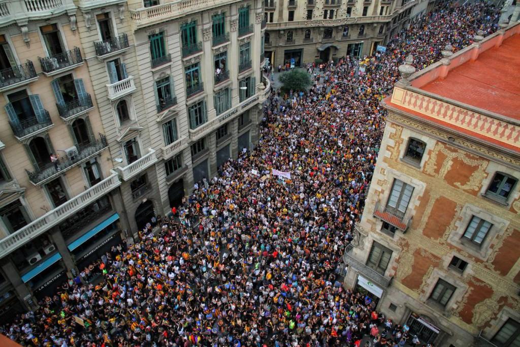 La Vaga General paraliza Catalunya